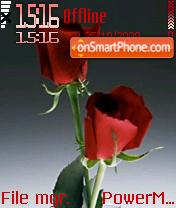 Two Red Roses es el tema de pantalla