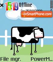 Square Cow tema screenshot
