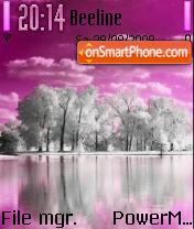 Pink Winter es el tema de pantalla
