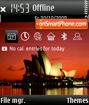 The Opera House theme screenshot