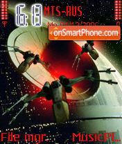 Star Wars Xwing v2 theme screenshot
