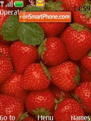 Strawberries 01 theme screenshot