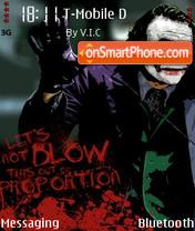 Joker V3 01 theme screenshot