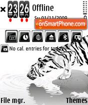 White Tiger 05 theme screenshot