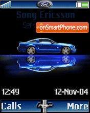 Blue Mustangblok es el tema de pantalla
