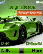 Porsche Green es el tema de pantalla