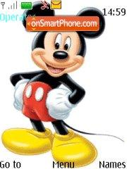 Mickey Mouse tema screenshot