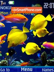 Swf underwater slide tema screenshot