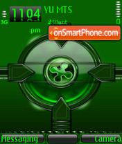 Green Glow theme screenshot