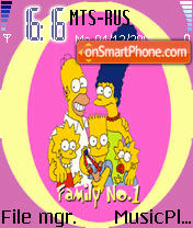 Simpson 5 theme screenshot