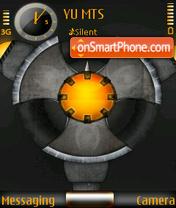 Orange Circle theme screenshot