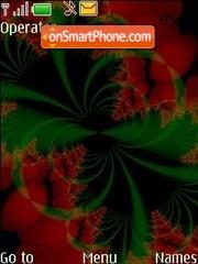 Green end red theme screenshot
