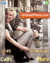 Marilyn Monroe theme screenshot
