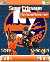 New York Islanders theme screenshot