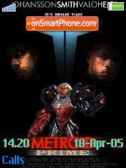Metroid Prime tema screenshot