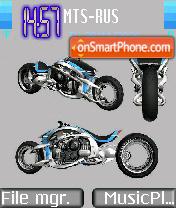 Скриншот темы Future Bike
