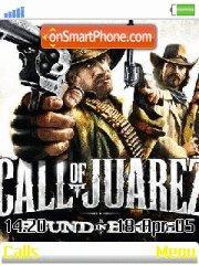 Call of Juarez Bound in Blood theme screenshot