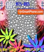 Flowers theme screenshot