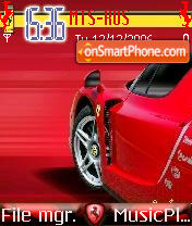 Ferrari Enzo theme screenshot