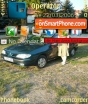 Renault theme screenshot