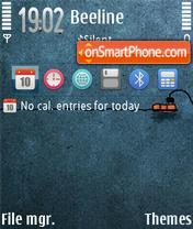 Socket FP1 theme screenshot