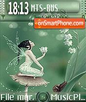 Fairy Of Lily es el tema de pantalla