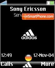 Adidas Germany theme screenshot