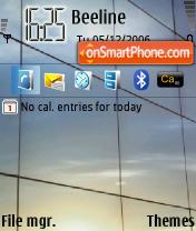 Скриншот темы Win Vista