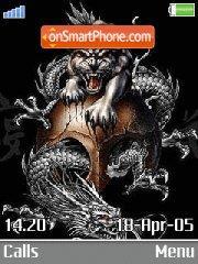 Gothic Dragon es el tema de pantalla