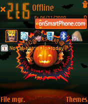 Halloween 2010 theme screenshot
