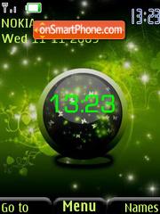 Swf green abstract theme screenshot