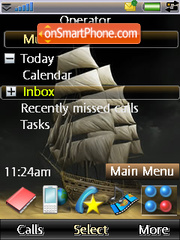 Digital boat tema screenshot