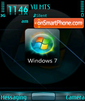 Windows Seven tema screenshot