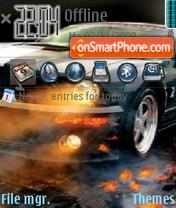 Shelby GT500 2012 theme screenshot