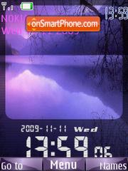 Nature SWF theme screenshot