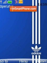 Adidas New theme screenshot