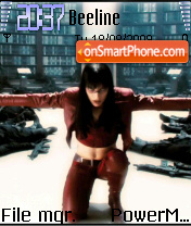 Ultraviolet 01 theme screenshot