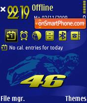 46 V2 theme screenshot