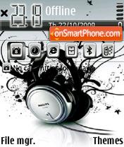 Music 5311 theme screenshot
