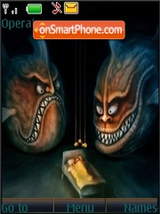 Nightmare theme screenshot