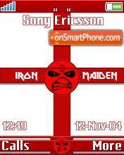 Maiden England es el tema de pantalla