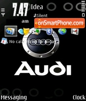 Скриншот темы Audi Concept