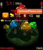 Toxic Mushrooms es el tema de pantalla