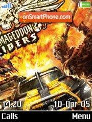 Armagedon Riders es el tema de pantalla