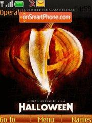 Halloween theme screenshot
