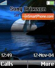 Moonlight Night theme screenshot