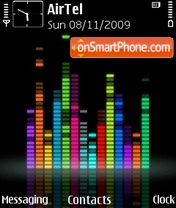 Equalizer Tehkseven Icons tema screenshot
