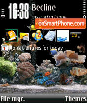 Acquariov 2 theme screenshot