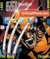 Скриншот темы Wolverine