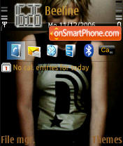 Dido theme screenshot